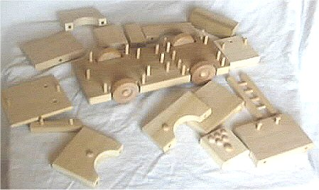 Wooden Toy Fire Truck Plans